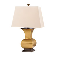 Hudson Valley Lighting Water Mill Portable Table Lamp in Vintage Brass L474-VB photo thumbnail