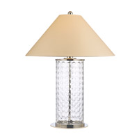 Hudson Valley Lighting Shelby Portable Table Lamp in Polished Nickel L536-PN
