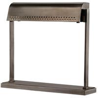 Hudson Valley L811-HN Garfield 14 inch 9 watt Historic Nickel Desk Lamp Portable Light
