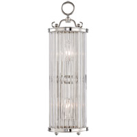 Glass No. 1 1 Light 6 inch Polished Nickel ADA Wall Sconce Wall Light