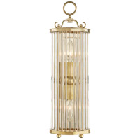 Glass No. 1 1 Light 6 inch Aged Brass ADA Wall Sconce Wall Light