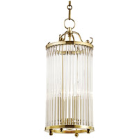 Hudson Valley MDS202-AGB Glass No. 1 4 Light 9 inch Aged Brass Pendant Ceiling Light