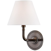 Signature No. 1 1 Light 8 inch Distressed Bronze Wall Sconce Wall Light