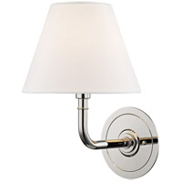 Hudson Valley MDS600-PN Signature No. 1 1 Light 8 inch Polished Nickel Wall Sconce Wall Light