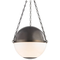 Hudson Valley MDS751-DB Sphere No. 2 3 Light 21 inch Distressed Bronze Pendant Ceiling Light