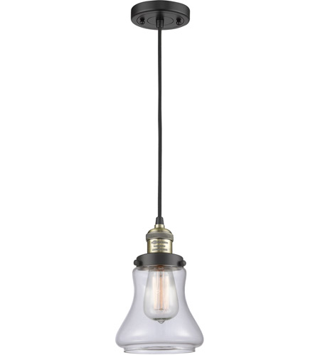 Innovations Lighting 201c Bab G192 Led Bellmont 6 Inch Black Antique Br Mini Pendant Ceiling Light Franklin Restoration