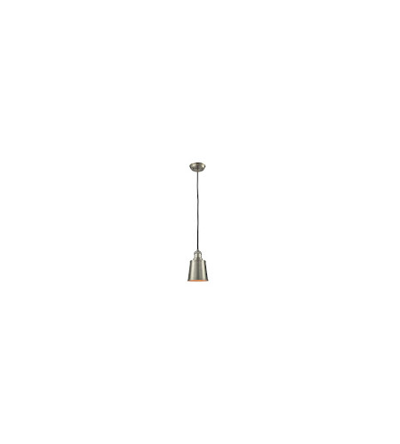 Innovations Lighting 201C-SN-M9 Addison 1 Light 5 inch Brushed Satin Nickel Mini Pendant Ceiling Light photo