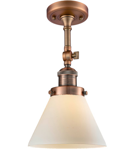Innovations Lighting Large Cone Semi-Flush Mounts