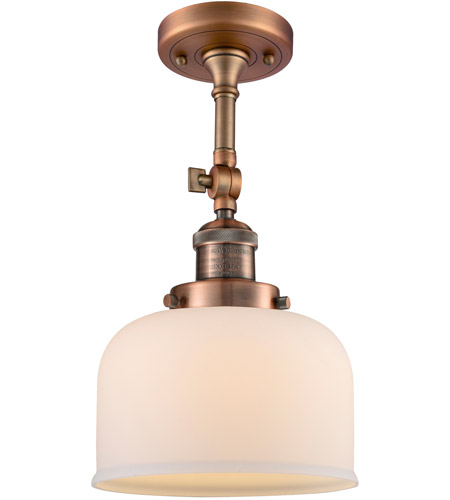 Innovations Lighting Large Bell Semi-Flush Mounts