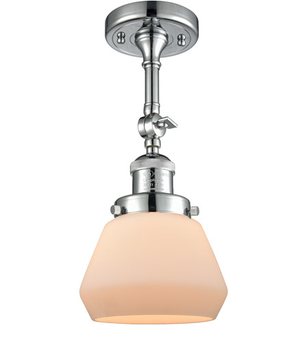 Innovations Lighting Polished Chrome Semi-Flush Mounts