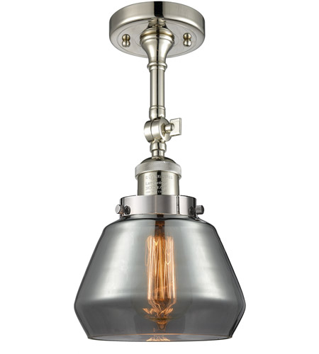 Innovations Lighting Polished Nickel Semi-Flush Mounts