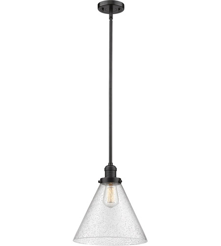 Innovations Lighting 201S-OB-G44L Signature 1 Light 12 inch Oiled Rubbed Bronze Pendant Ceiling Light, X-Large, Cone photo