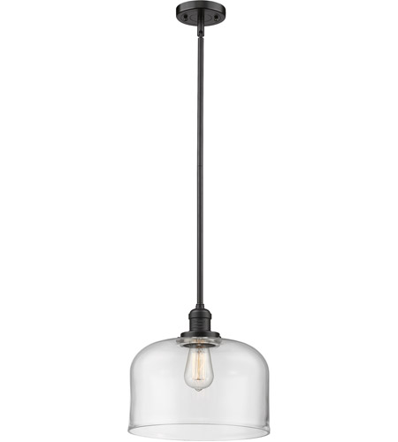 Innovations Lighting 201S-OB-G72L Signature 1 Light 12 inch Oiled Rubbed Bronze Pendant Ceiling Light, X-Large, Bell photo