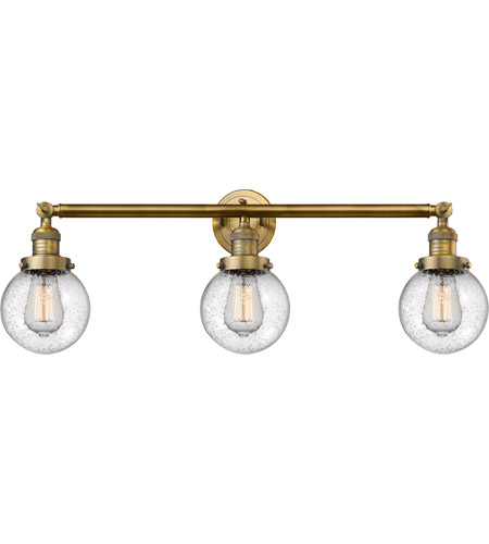 Brushed Brass Beacon Bathroom Vanity Lights