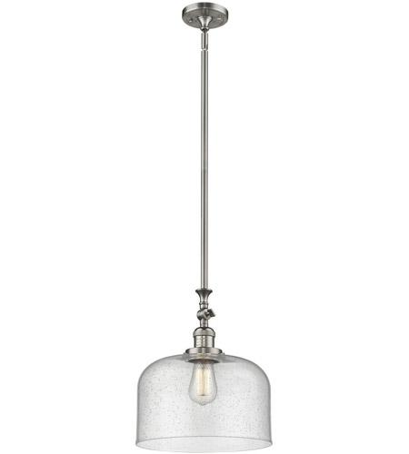 Innovations 206-SN-G172 1 Light Mini Pendant Brushed Satin Nickel
