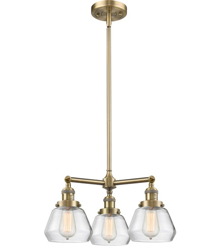 Innovations Lighting Glass Fulton Chandeliers