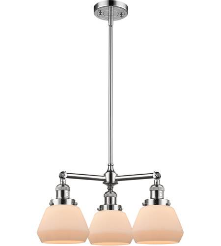Innovations Lighting Polished Chrome Fulton Chandeliers