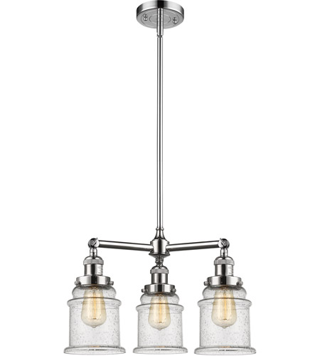 Innovations Lighting 207-PC-G184-LED Canton LED 18 inch Polished Chrome Chandelier Ceiling Light photo thumbnail
