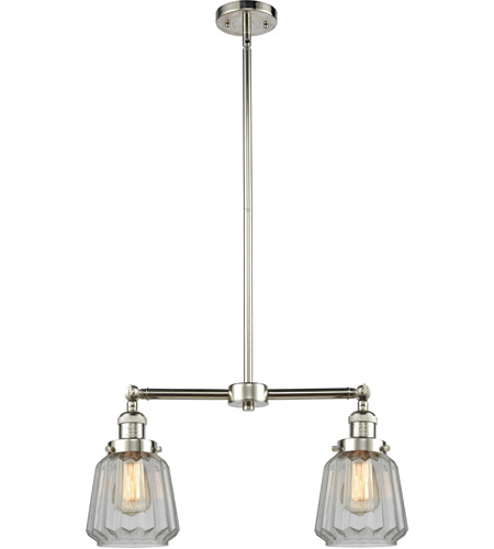 Innovations Lighting Polished Nickel Chatham Chandeliers