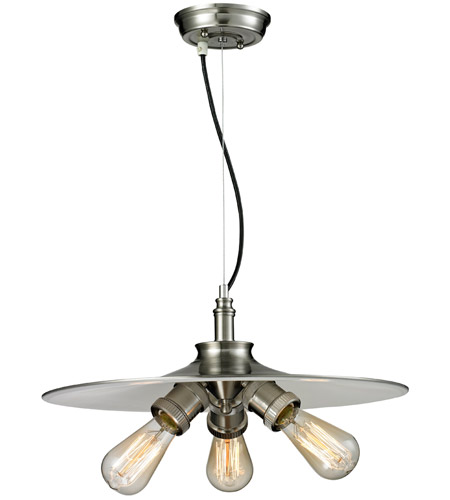 Innovations Lighting 210-SN Signature 3 Light 18 inch Brushed Satin Nickel Pendant Ceiling Light photo