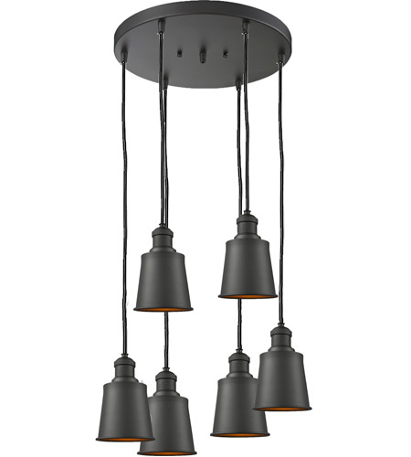 Innovations Lighting 212/6-AC-M9 Addison 6 Light 12 inch Antique Copper Multi-Pendant Ceiling Light photo