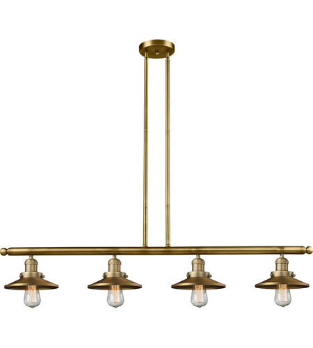 Cast Brass Railroad Island Lights