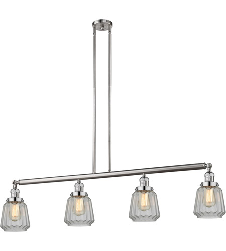 Brushed Satin Nickel Chatham Island Lights
