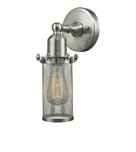Innovations Lighting 220-SN-LED Quincy Hall LED 5 inch Brushed Satin Nickel Sconce Wall Light photo