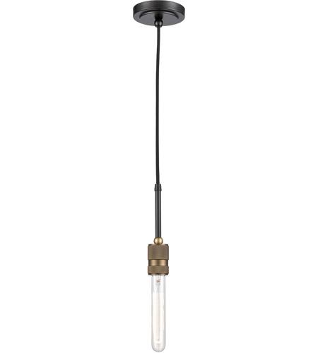 Innovations Lighting 444-2W-BAB-T9-7-LED Bare Bulb 1 Light Cord Set Black Antique Brass