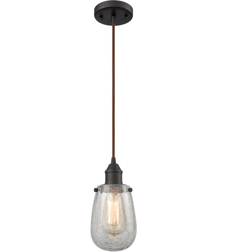 Innovations Lighting 466-1P-OB-CK Sinclair 1 Light 5 inch Oiled Rubbed Bronze Mini Pendant Ceiling Light photo