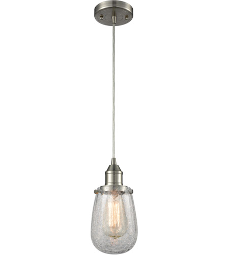 Innovations Lighting 466-1P-SN-CK-LED Sinclair LED 5 inch Brushed Satin Nickel Mini Pendant Ceiling Light photo
