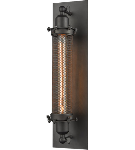 Innovations Lighting 514L-1W-OB Quincy Hall 1 Light 5 inch Oiled Rubbed Bronze Wall Sconce Wall Light photo
