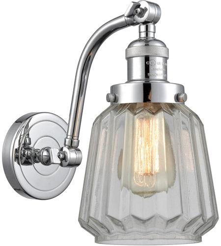 Innovations Lighting 515-1W-PC-G142 Chatham 1 Light 6 inch Polished Chrome Sconce Wall Light photo thumbnail