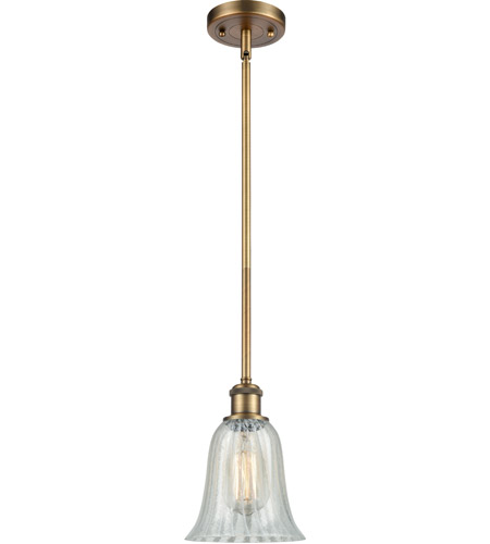 Innovations Lighting 516-1S-BB-G2811 Hanover 1 Light 6 inch Brushed Brass Pendant Ceiling Light, Ballston photo thumbnail