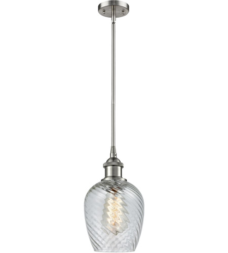 Innovations Lighting 516-1S-SN-G292 Salina 1 Light 5 inch Brushed Satin Nickel Pendant Ceiling Light, Ballston photo