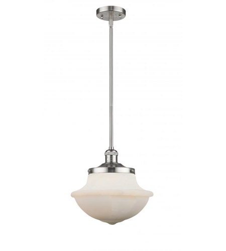 Innovations Lighting 542-SN-W Pendleton School House 1 Light 12 inch Brushed Satin Nickel Pendant Ceiling Light, Franklin Restoration photo