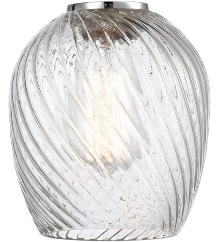 Innovations Lighting G292 Salina Clear Spiral Fluted Salina 6 inch Glass, Ballston photo