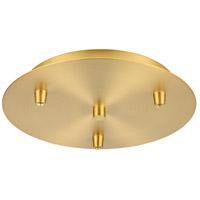 Innovations Lighting 113-SG Custom Cord Satin Gold Multi Port Canopy, Round