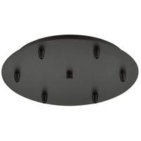Innovations Lighting 116-OB Custom Cord Oil Rubbed Bronze Multi Port Canopy, Round