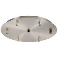 Innovations Lighting 116-SN Custom Cord Satin Nickel Multi Port Canopy, Round