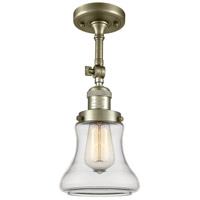 Innovations Lighting 201F-AB-G192 Bellmont 1 Light 6 inch Antique Brass Semi-Flush Mount Ceiling Light