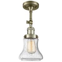 Innovations Lighting 201F-AB-G194 Bellmont 1 Light 6 inch Antique Brass Semi-Flush Mount Ceiling Light