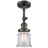 Innovations Lighting 201F-OB-G182S Small Canton 1 Light 6 inch Oil Rubbed Bronze Semi-Flush Mount Ceiling Light Franklin Restoration