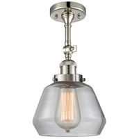 Innovations Lighting 201F-PN-G172-LED Fulton LED 7 inch Polished Nickel Semi-Flush Mount Ceiling Light