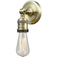Bare Bulb LED 5 inch Antique Brass ADA Wall Sconce Wall Light