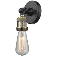 Bare Bulb LED 5 inch Black Antique Brass ADA Wall Sconce Wall Light