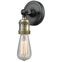Innovations Lighting 202-BAB-ADA Bare Bulb 1 Light 5 inch Black Antique Brass ADA Sconce Wall Light