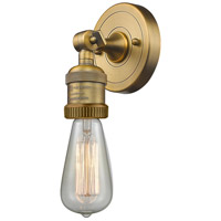 Bare Bulb LED 5 inch Brushed Brass ADA Wall Sconce Wall Light