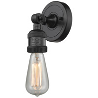 Bare Bulb LED 5 inch Matte Black ADA Sconce Wall Light