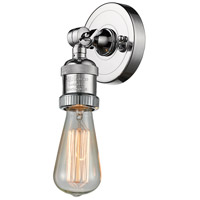 Bare Bulb LED 5 inch Polished Chrome ADA Wall Sconce Wall Light